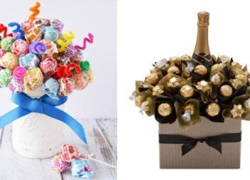 Букет з цукерок своїми руками: 10 ідей та майстер-класи