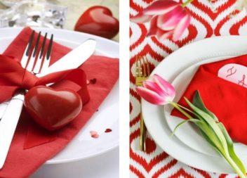 Романтична вечеря: 10 способів сервірування столу