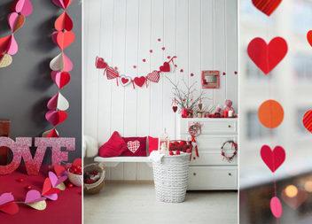 Декор до Дня святого Валентина: 30 чудових ідей
