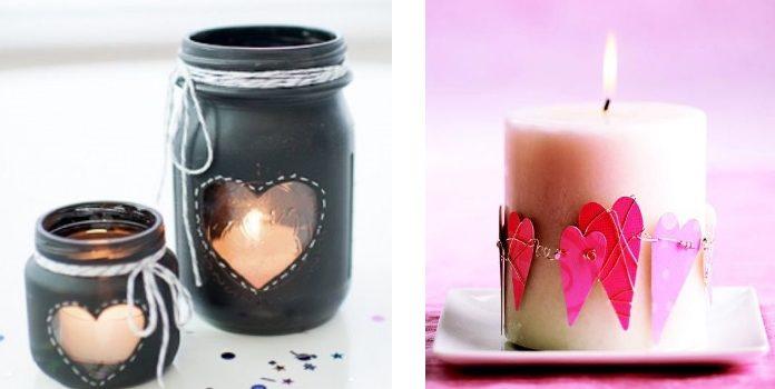 Свічки та підсвічники до Дня святого Валентина: 15 креативних ідей