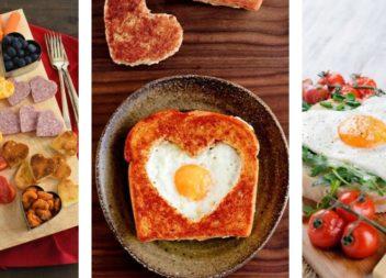 Ідеї романтичного сніданку на День святого Валентина