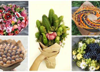 Їстівна флористика: 30 оригінальних ідей на всі випадки життя