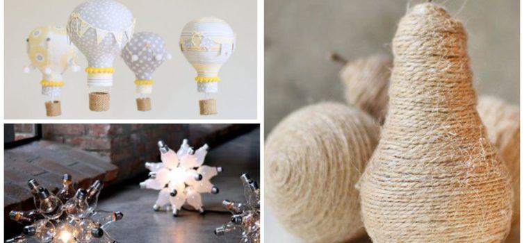 Що зробити зі старої лампочки: 15 ідей для домашнього декору
