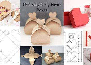 Оригінальні шаблони подарункових коробочок