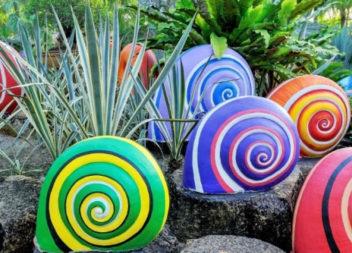 Перетворюємо звичайне каміння на садовий декор (10 ідей)
