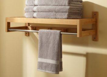 Як зберігати рушники у ванній, щоб на них не з'являлися бактерії