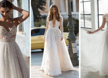 Витончені весільні сукні 2019: прозора романтика (37 фото)