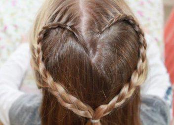 Зачіски для дівчаток на 1 вересня (30 супер ідей)