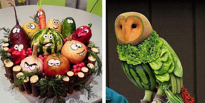 Вироби із овочів та фруктів (33 ідеї для конкурсу)