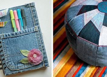 Ось які супер речі можна зробити зі старих джинсів