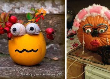 Осінній креатив: творимо з овочів (33 ідеї для батьків та дітей)