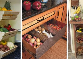 Ідеальні способи зберігання овочів та фруктів