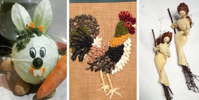 Осіння творчість з дітьми: ідеї використання природніх матеріалав, про які ви навіть не здогадувались (40 фото)