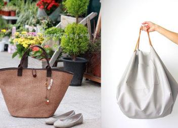 Викрійки оригінальних жіночих сумок (18 варіантів)