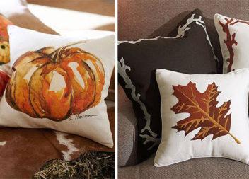 Ідеї виготовлення декоративних осінніх подушок (32 фото)