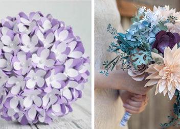 Паперові квіти: майстер-класи та ідеї виготовлення