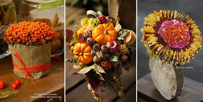 Креативні букети: осіння добірка
