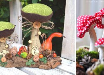 Шиємо грибочки: 34 приклади незвичного осіннього креативу