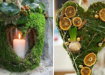 Декор із моху: 25 крутих ідей