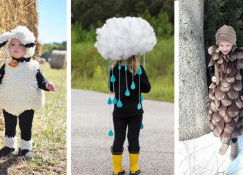 Робимо самотужки дитячі костюми до свята осені (біля 60 фото-ідей)