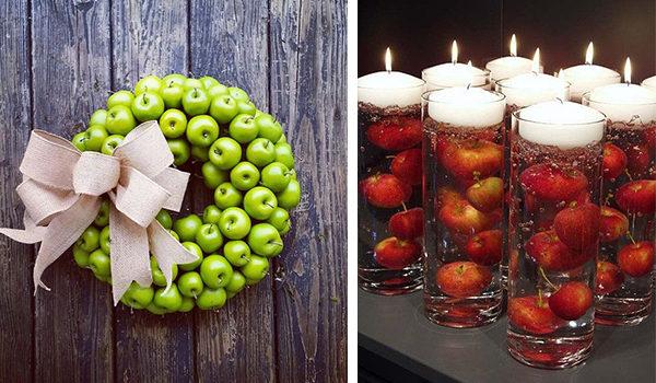 Яблучний декор: 24 смачні ідеї