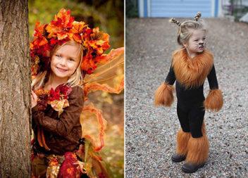 Дитячі костюми до осінніх свят: 38 фото