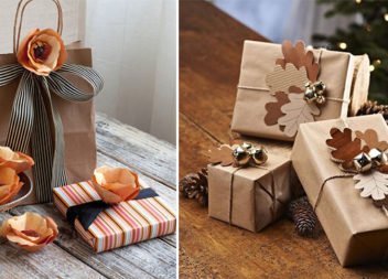 32 ідеї декорування осінніх подарунків