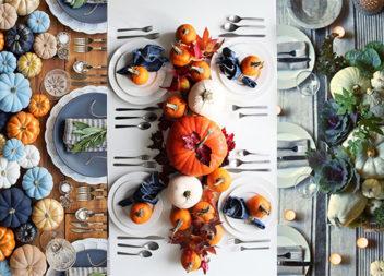 Святкове сервірування столу: 30 осінніх ідей