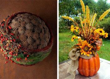 Осіння флористика: 31 оригінальна ідея