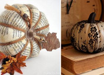 17 небанальних ідеї прикрашання гарбуза