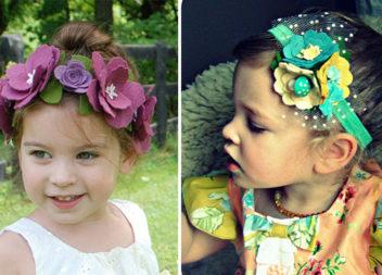 Віночки із фетру для маленьких принцес: майстер-класи та фото-ідеї