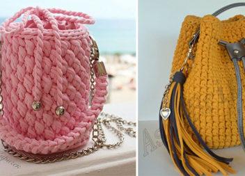 Сумки і рюкзаки зв'язані гачком - 32 модні ідеї на всі випадки життя