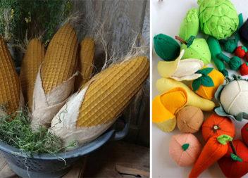 Шиємо овочі та фрукти: 35 крутих ідей для створення текстильного декору та іграшок