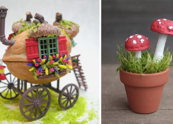 32 ідеї для творчості з горіхової шкарлупи