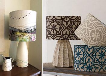 Декорування абажурів об'ємною вишивкою (16 ідей)