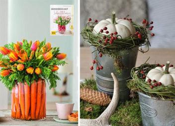 Оригінальні композиції з фруктів, овочів та квітів (40 фото)