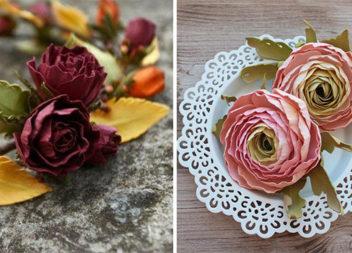 Троянди з фоамірану (23 ідеї та відео-урок)