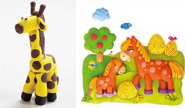 Дитячі вироби з пластиліну: майстер-класи та ідеї