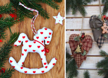 Шиємо декор до зимових свят власноруч: 46 красивих ідей