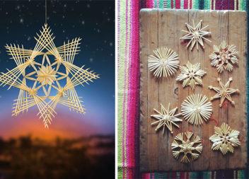 Майструємо еко-декор із соломи на Різдвяні свята: 30 ідей