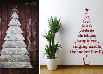 Створюємо новорічну ялинку власноруч: 28 альтернативних ідей живому дереву
