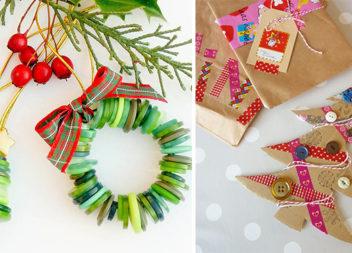 Використовуємо ґудзики в новорічному декорі: прикраси та ідеї (30 фото)