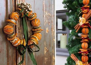 Помандери з цитрусових - натуральний новорічний декор