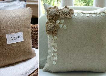 25 ідей виготовлення декоративних подушок