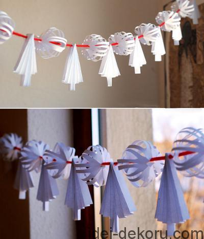 Декорации к зимним праздникам в садах и школах