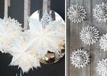 Створюємо самотужки красиві об'ємні сніжинки (ідеї, майстер-класи та відео)