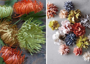 Чарівні квіти із паперу (14 детальних майстер-класів)