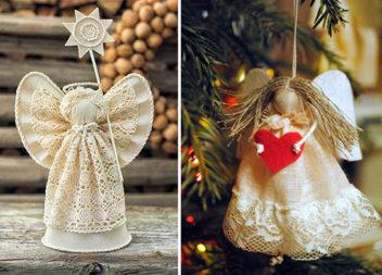 Створюємо різдвяних янголів самотужки (45 неймовірних ідей)