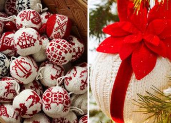 Вишиваємо та в'яжемо новорічні прикраси на ялинку