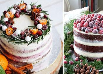 Вишукані новорічні торти: білий мінімалізм. 25 ідей для кондитера